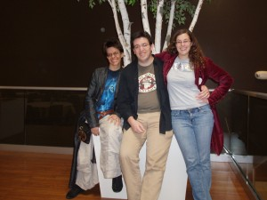 Lauren, Matt, and Alexa at OVFF 2011